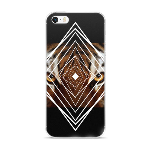 iPhone 5/5s/Se, 6/6s, 6/6s Plus  Tiger Dreamer Case