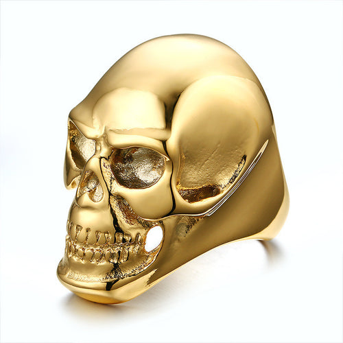 Stainless Steel Ring Fashion Skull