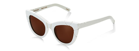 PUSS & BOOTS - ACETATE SUNGLASSES - WHITE