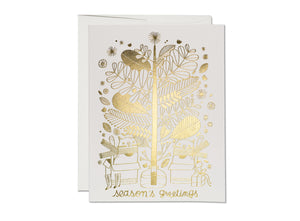 GREETING CARD - SEASON'S GREETINGS