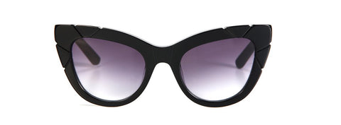PUSS & BOOTS - ACETATE SUNGLASSES - BLACK