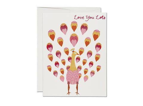 GREETING CARD - LOVE YOU LOTS