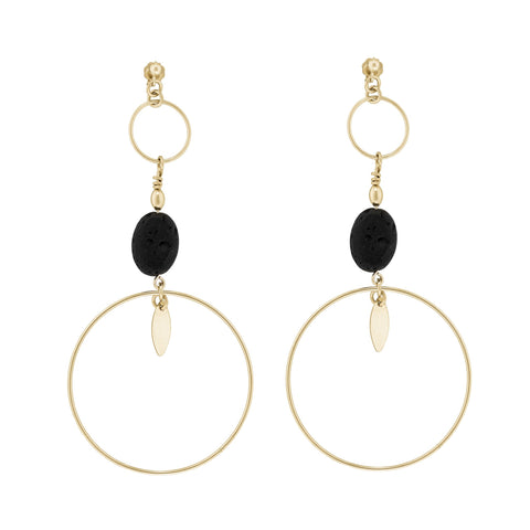 LAVA RONDE EARRINGS