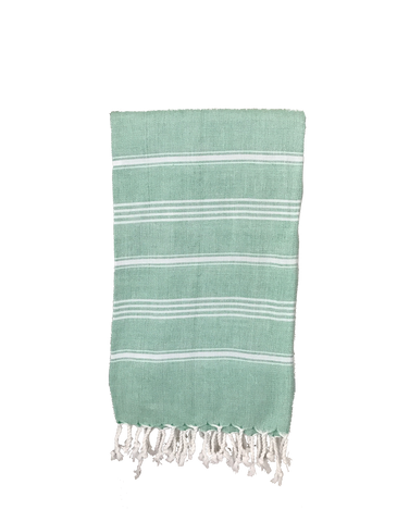 TURKISH TOWEL - GREEN