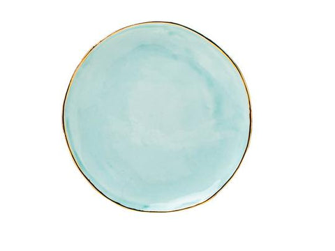 SMALL PASTEL PLATE - GREEN