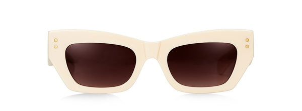 BEC + BRIDGE X PARED - PETITE AMOUR SUNGLASSES - IVORY
