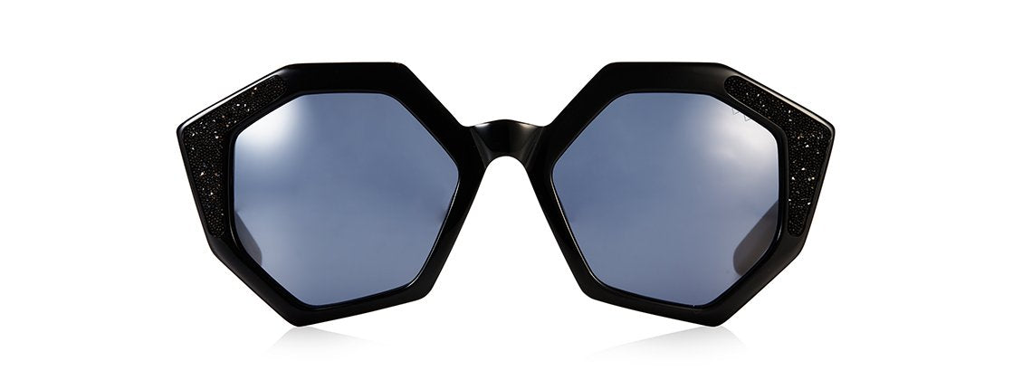 SOLE & MARE SUNGLASSES - BLACK SWAROVSKI