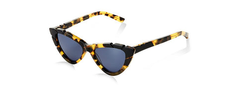 PICCOLO & GRANDE SUNGLASSES - DARK TORTOISE/ BLACK