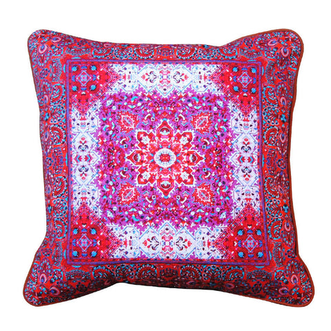 CRIMSON CUSHION COVER
