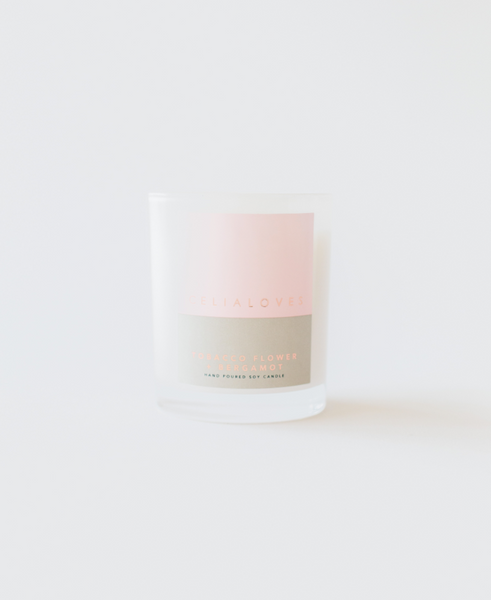 TOBACCO FLOWER & BERGAMOT CANDLE
