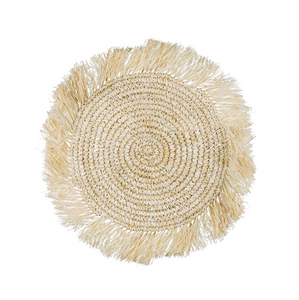 RAFFIA PLACEMAT - NATURAL