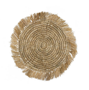 RAFFIA PLACEMAT - BROWN