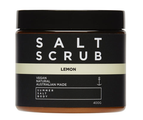 SALT SCRUB - LEMON