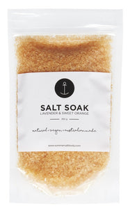 SALT SOAK - LAVENDER & SWEET ORANGE
