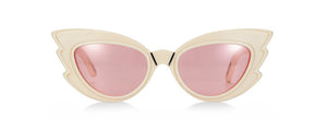 EMMA MULHOLLAND X PARED - STARGAZERS SUNGLASSES - IVORY