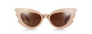 EMMA MULHOLLAND X PARED - STARGAZERS SUNGLASSES - LIGHT FAWN