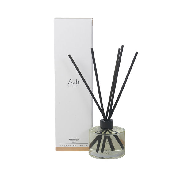 REED DIFFUSER - ISLAND LUXE