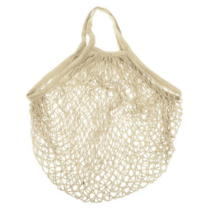 MINI COTTON STRING BAG - NATURAL