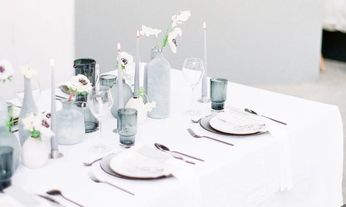 Monochromatic Shoot Featured on Wedding Sparrow