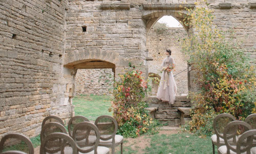 Featured: Autumn Wedding Shoot on Wedding Sparrow