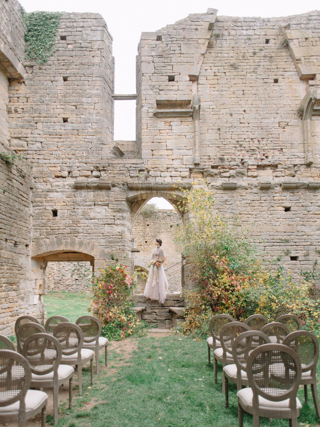 Fall wedding featured on Madame de la Maison | Photo by Celine Chhuon