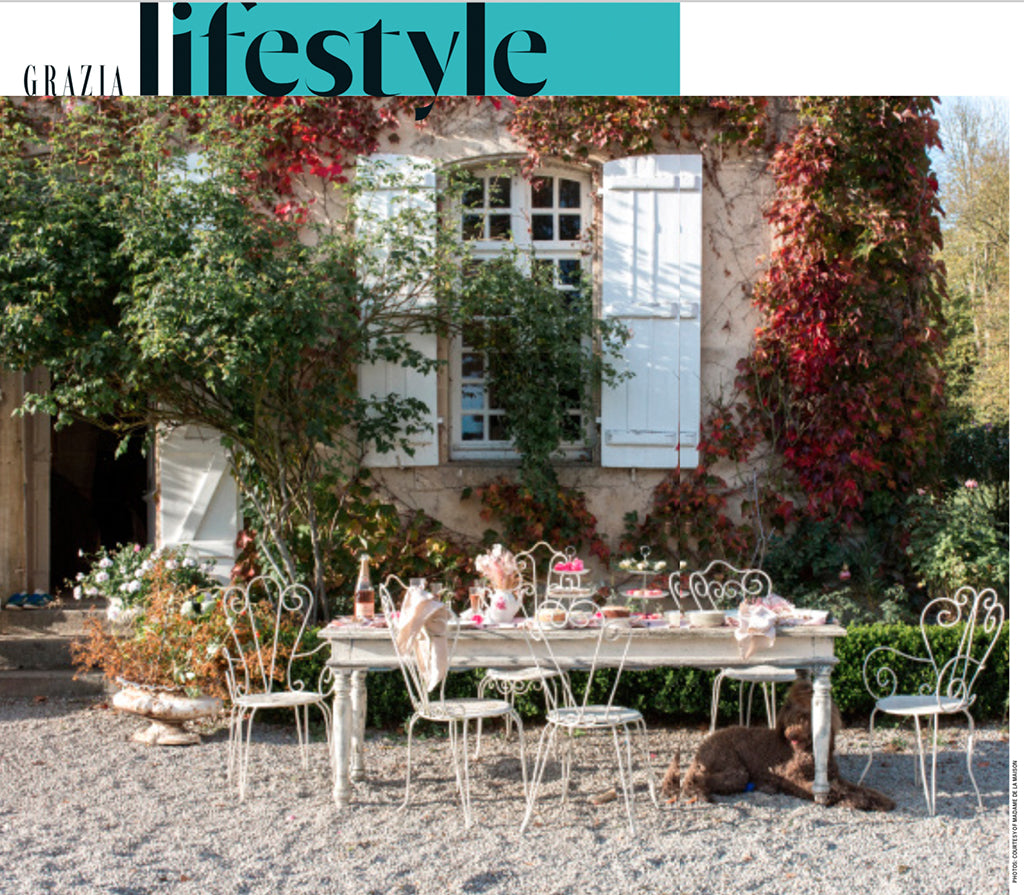 Madame de la Maison in Grazia France