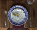 Set of Blue and White LUNEVILLE Paysage Dishes