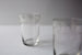 Set of 6 Small Etched Crystal Baccarat Glasses