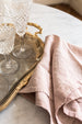 rose linen napkins from Paris | sold on www.madamedelamaison.com