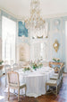 Mont blanc linens from Madame de la Maison | Photo by Molly Carr