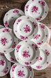 Rose antique plates | sold on Madame de la Maison