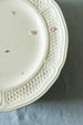 Antique Vintage White Cream Gien Plates sold on Madame de la Maison www.madamedelamaison.com