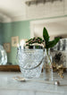 Beveled Crystal and Silver Ice Bucket