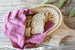 Large Handwoven Bread Basket