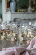 antique champagne coupes on Madame de la Maison