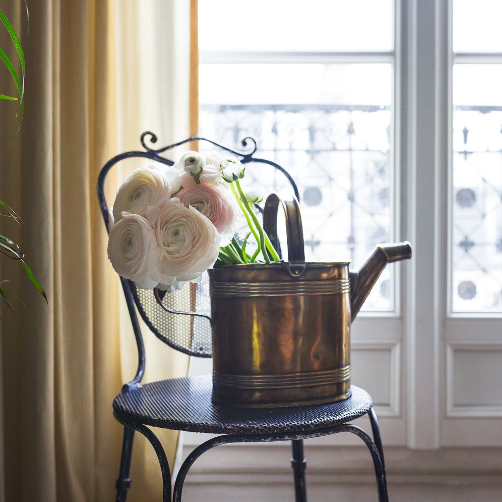 antique watering can sold on Madame de la Maison