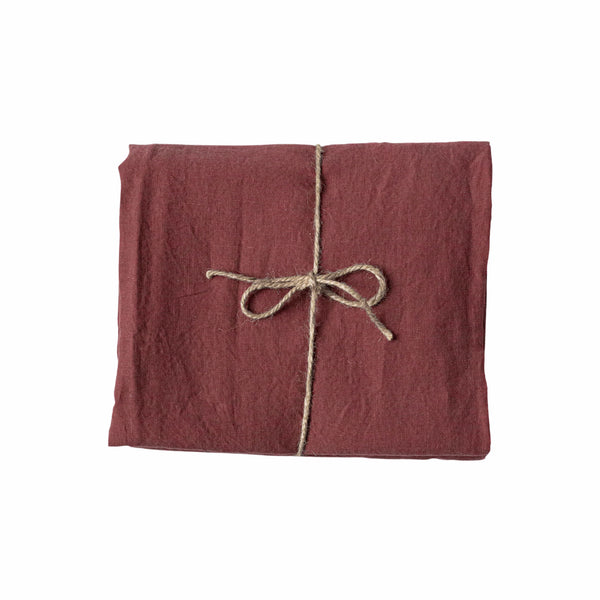 Bordeaux Linen Tablecloth 260 x 350