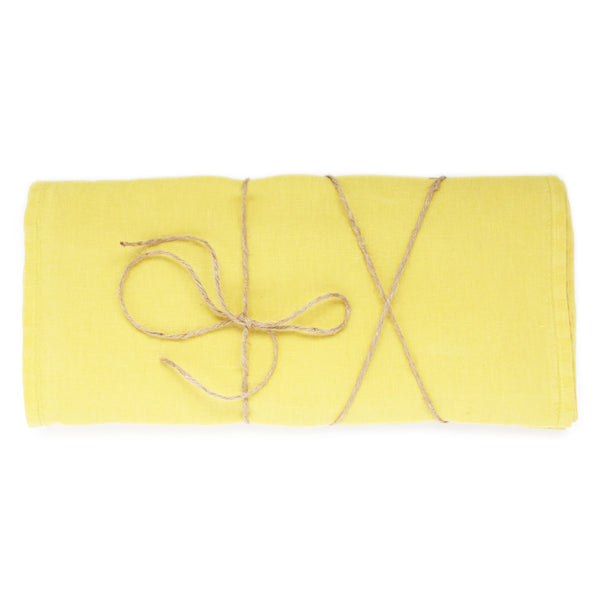 Sample Sale Citron Linen Runner