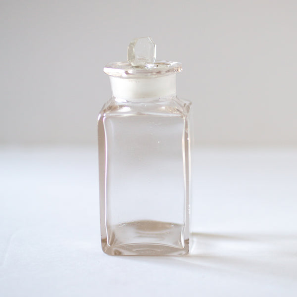 Antique glass apothecary jars sold on Madame de la Maison