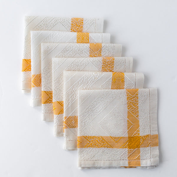 Art Deco Cocktail Napkins (Set of 6)