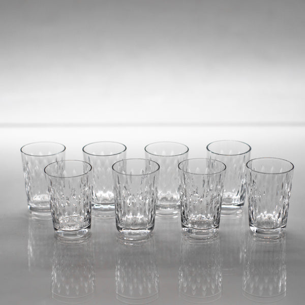 Antique crystal Baccarat shot glasses | sold on www.madamedelamaison.com