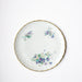 Rare Textured Floral Porcelain Plates From Limoges