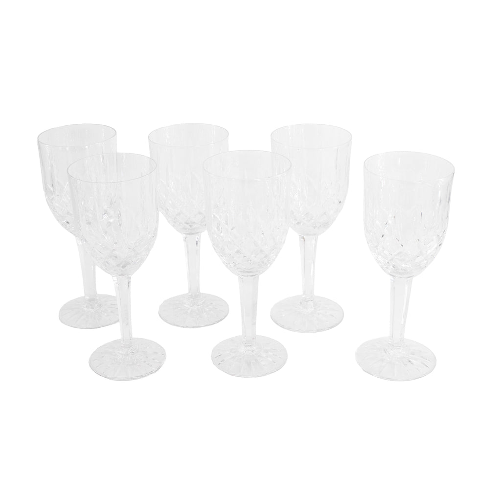 Antique beveled wine glasses | sold on www.madamedelamaison.com