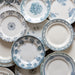 Antique Blue & White Plate Collection for rent | Madame de la Maison