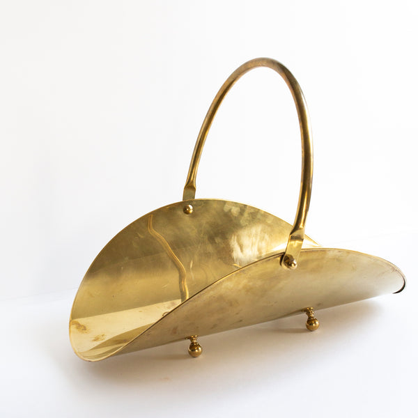 Brass Carrier | Sold on Madame de la Maison