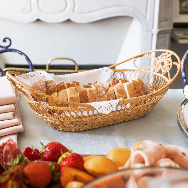 Handwoven Bread Basket