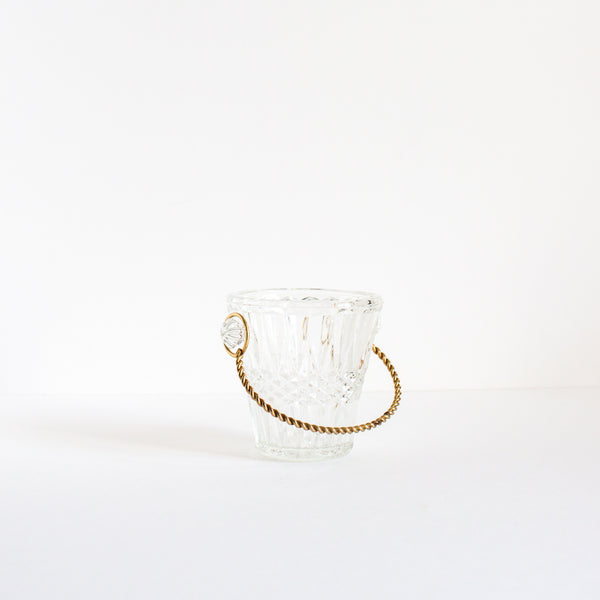 Antique crystal ice bucket | Sold on Madame de la Maison