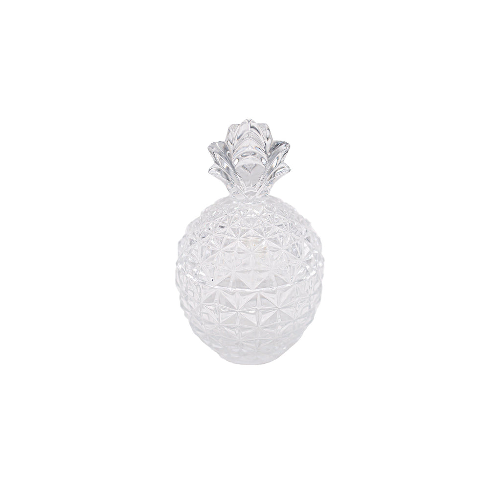 Antique crystal Pineapple Jar | Sold on www.madamedelamaison.com