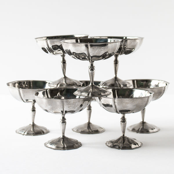 Antique dessert coupes | Sold on Madame de la Maison