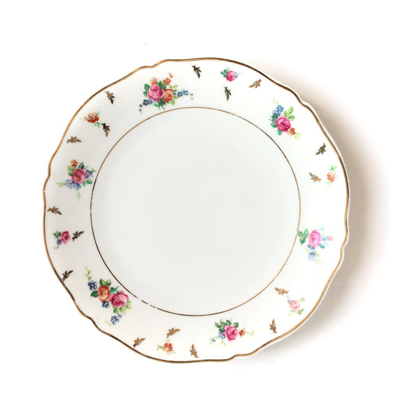 Floral F.Legrand & Cie Entree Plates